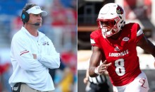 Lane Kiffin Tweets At Lamar Jackson, Tells Him To Leave Louisville And Come To FAU, Which Is Probably Against NCAA Rules (TWEETS)