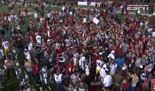 USC Player Intentionally Levels An Unsuspecting Washington State Fan After Upset Loss (VIDEO)