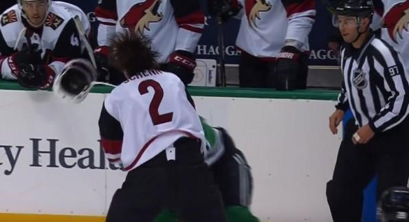 worst-hockey-fight-ever-antoine-roussel-luke-schenn
