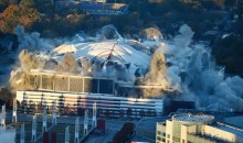 Watch The Georgia Dome Implode With 5,000 Pounds Of Explosives (VIDEO)
