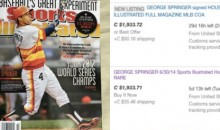 Copies of the SI Cover that Predicted the Astros' World Series Win Are Selling for a TON on eBay (PICS)