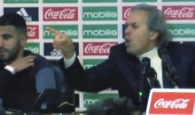 "Algerian Soccer Coach Goes on Insane Tirade, Tells ""Enemy"" Reporter to Shut Up and Retire (VIDEO)"
