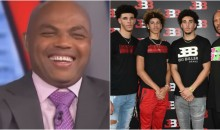 Barkley, Shaq Roasted The Hell Out Of The Entire Ball Family Over Sunglasses Arrest (VIDEO)