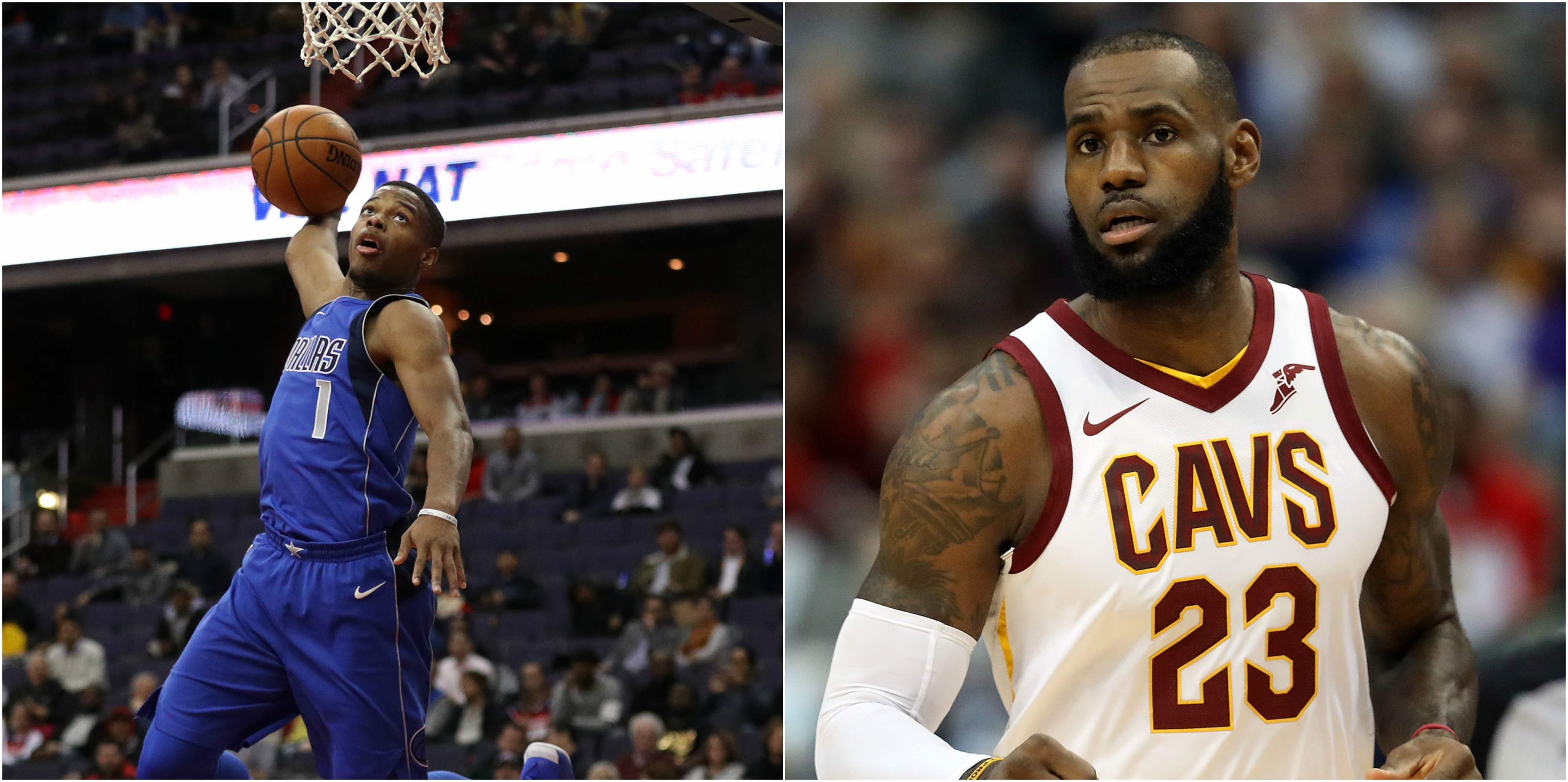 3dc7a3e32c1 LeBron Says The Knicks Screwed Up Big Time By Not Drafting Dennis Smith Jr.  (VIDEO)