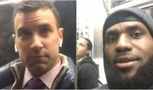 Watch This Subway Commuter Get Extremely Annoyed With LeBron Filming Him; Didn't Realize Who He Was Until Later (VIDEO)