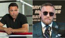 Oscar De La Hoya Wants to Come Out of Retirement to Fight Conor McGregor