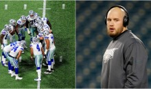 Lane Johnson Told His Grandma Who Roots For Dallas To 'Shut Up If You Want To See 75' (VIDEO)
