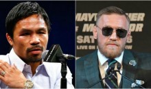 Manny Pacquiao Calls Out Conor McGregor For A Boxing Match in 2018
