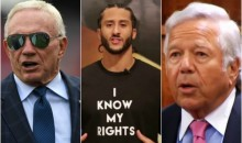 Kaepernick's Attorneys Wants Jerry Jones, Robert Kraft Phone & Email Records To Prove Collusion