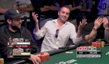 Watch This Poker Player's Heartbroken Face After a Very, Very Bad Beat at WSOP (VIDEO)