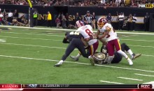Kirk Cousins Takes Massive Shot To Head While Chris Thompson Gets Carted Off Field Following Terrible Injury (VIDEO)