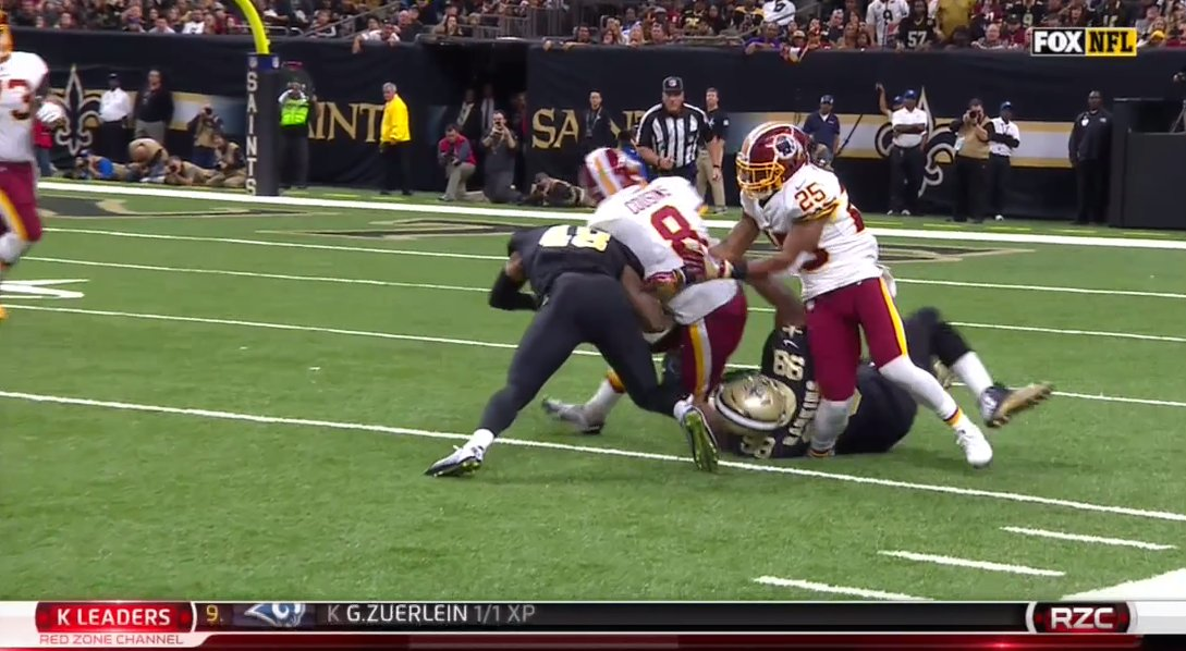 Saints rally late, beat Redskins in OT