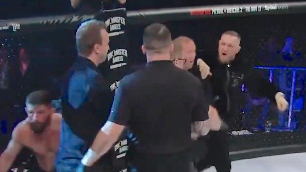 Cono McGregor Bellator 187 Outburst