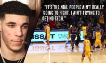 Lonzo Ball On Walking Away From Scuffle: 'I Ain't Trying To Get No Tech'