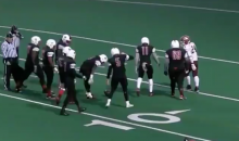Watch As This High School Punt Hits The 43-Yard Line & Rolls Slowly All The Way To The 7-Yard Line (VIDEO)