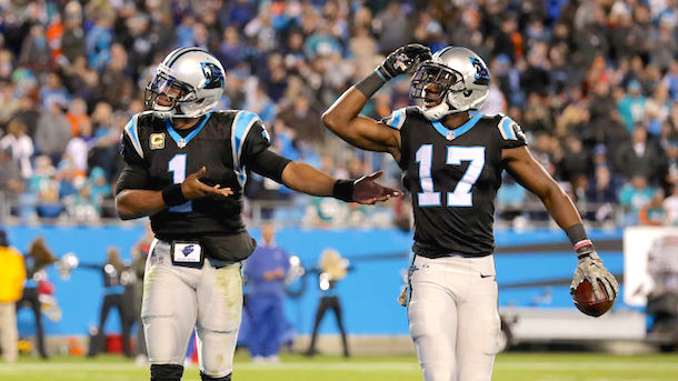 Devin Funchess gives game ball to mother of fallen soldier
