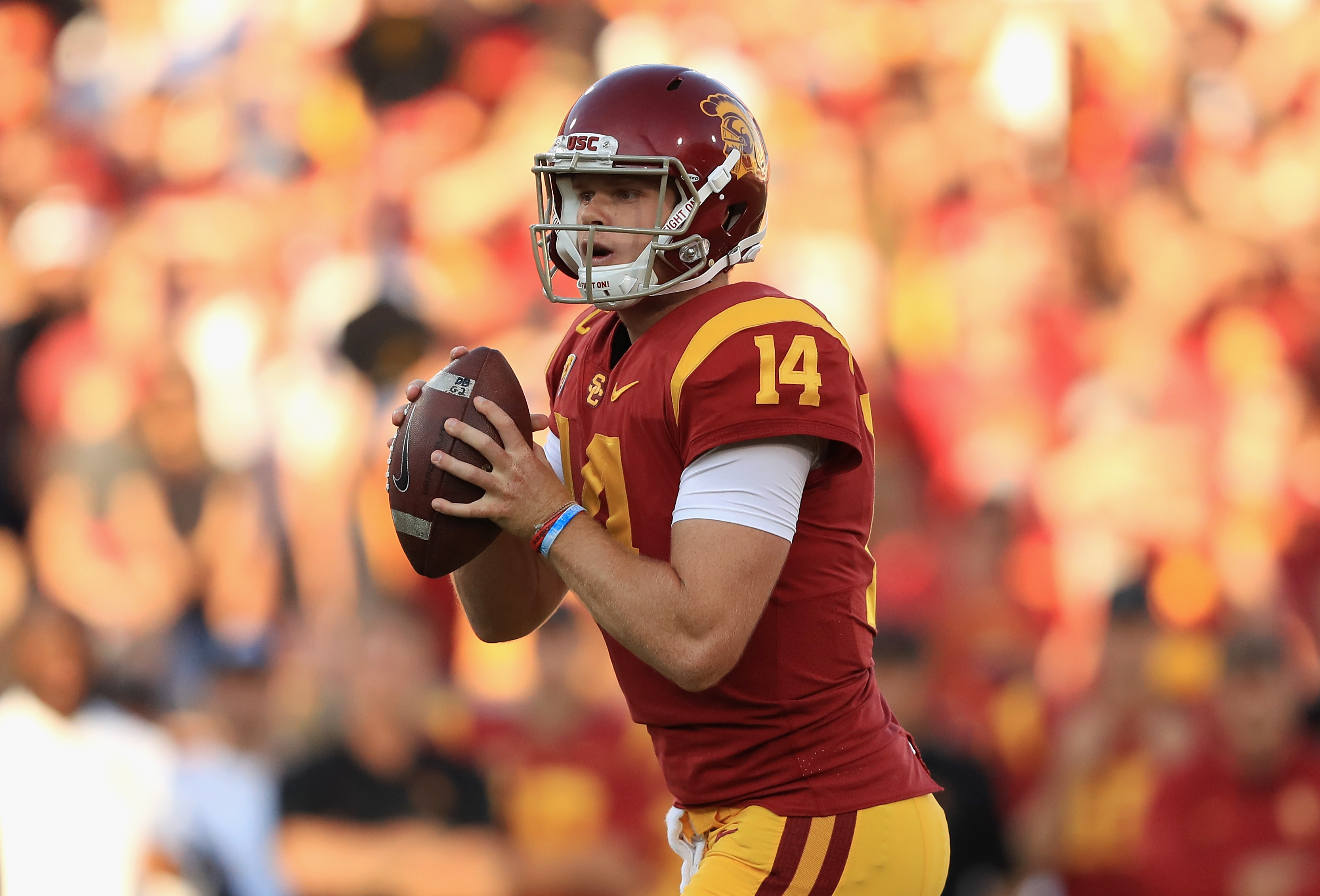 Sam Darnold could stay at USC if Browns have first pick