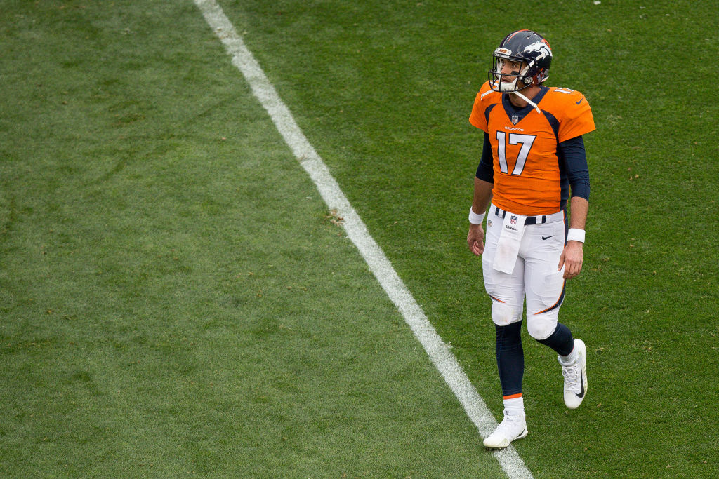 Broncos Turning to Paxton Lynch as Starting QB This Week