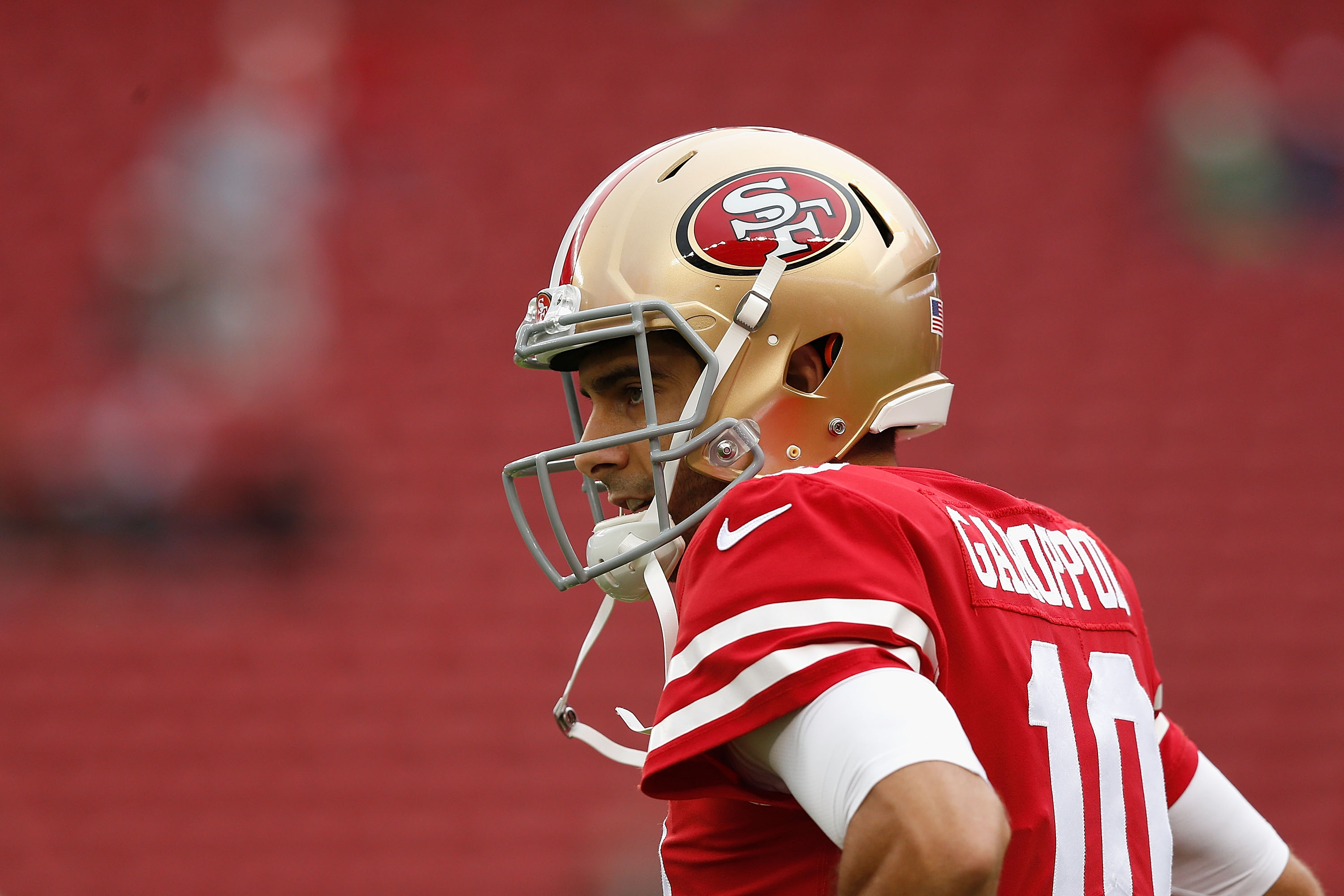 49ers announce Jimmy Garoppolo will start Sunday vs. Bears