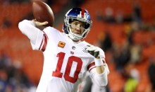 24 Hours After Benching, Eli Manning Came To Work Early To Mentor Rookie QB Davis Webb
