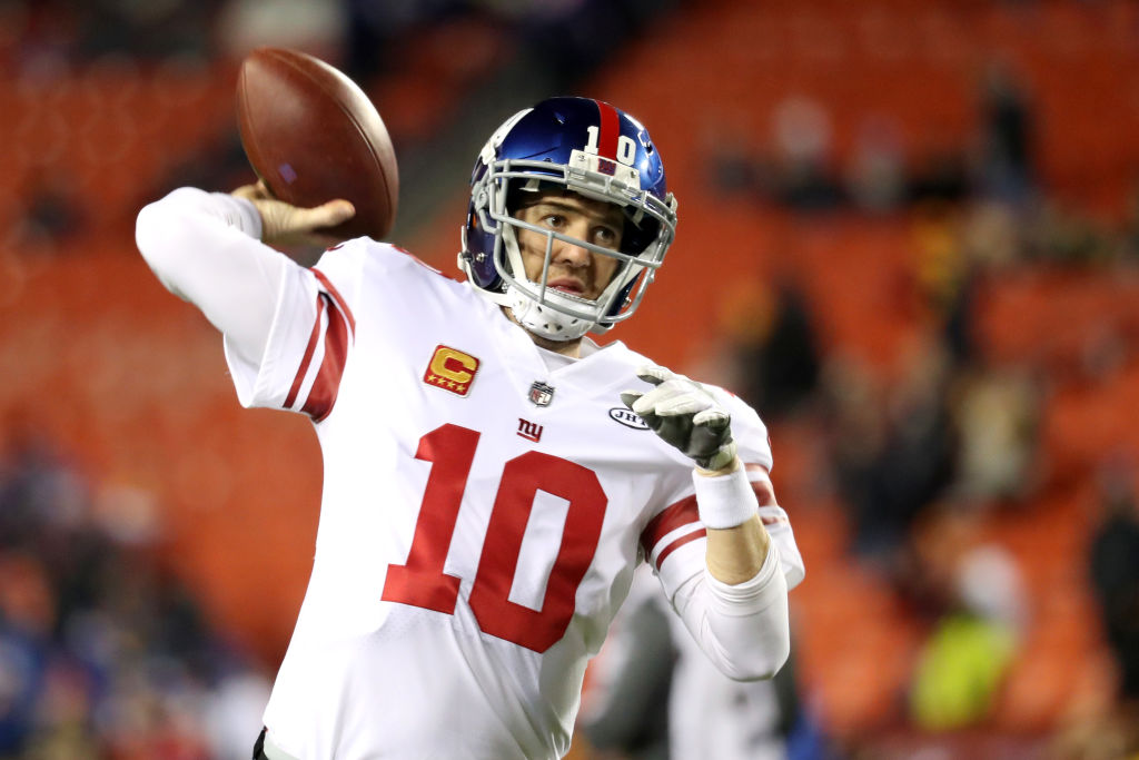 Giants co-owner John Mara talks about benching Eli Manning