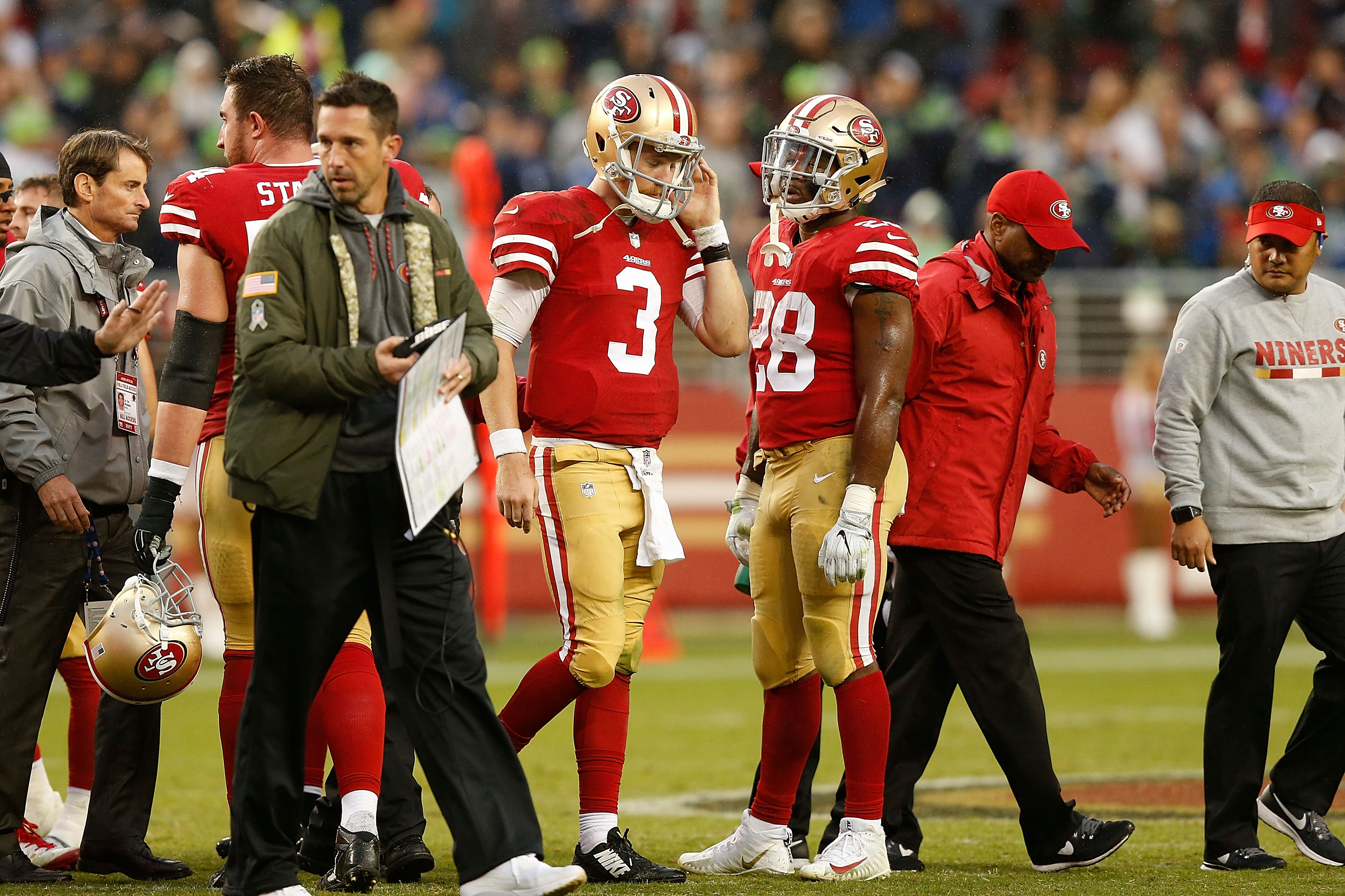 Escape artist: 49ers still finding Wilson, win over Seahawks, elusive