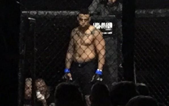 Greg Hardy MMA Debut