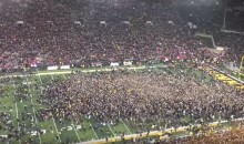 Watch Iowa Fans Storm The Field In EPIC Fashion After Upset Win vs. Ohio State (VIDEO)