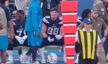 "Mic'd Up Joey Bosa After Forcing One of Nathan Peterman's Five Interceptions: ""They Literally Didn't Block Me"" (Video)"