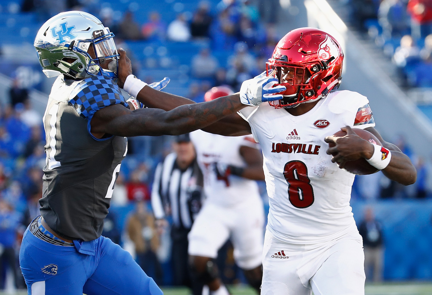 Lamar Jackson denies reports, adament he is 'strictly a quarterback'