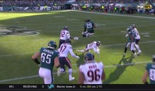 Watch LeGarrette Blount Hurdle Eddie Jackson With The Greatest of Ease (VIDEO)