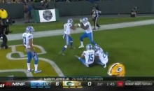 Detroit Lions Break Out The Rock'em Sock'em Robots TD Celebration (VIDEO)