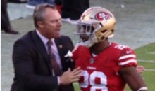 "49ers GM John Lynch Greeted RB Carlos Hyde On The Field After Ejection, Told Him ""Good Job"""
