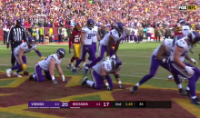 Minnesota Vikings Leapfrog Celebration Was Outstanding (VIDEO)