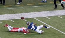 Giants WR Roger Lewis Actually Caught This Pass While Being Interfered With (VIDEO)