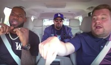 LeBron James Proves He's as Good at 'Carpool Karaoke' as He Is at Basketball (VIDEO)