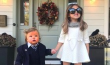 TJ Oshie Dressed His Kids Up As An Adorable President Trump And The First Lady (PICS)