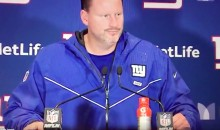 "Giants Coach Ben McAdoo Gave His Team The WORST Halftime Speech Ever: ""Ummmmm"" (VIDEO)"