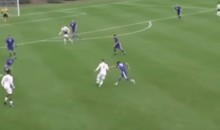 College Soccer Player Schools Defenders En Route To Amazing Goal (VIDEO)