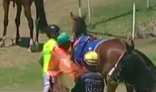 Frustrated Jockey Gets Two-Week Suspension for Punching His Horse (VIDEO)
