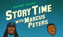 Hilarious 'Story Time' Cartoon Shows How Marcus Peters Almost Burned Down Marshawn Lynch's House (VIDEO)