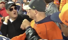 Watch This Broncos Fan Sucker Punch A Fellow Denver Fan During SNF (VIDEO)