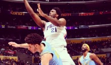 Joel Embiid Trolls Lonzo and LaVar Ball After HUGE Game vs. Lakers (PIC)