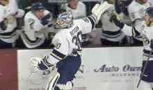 Sioux Falls Goalie Scores an Unlikely Empty-Netter, Celebrates Accordingly (VIDEO)