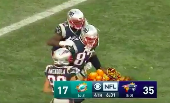 Rob Gronkowski, Brandin Cooks 'got yelled at' for TD celebration