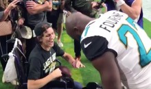 Leonard Fournette Made a Jags Fan's Day With a Truly Special Visit (VIDEO)
