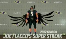 This Joe Flacco Graphic from 'Monday Night Football' Was Majestic as Hell (VIDEO)