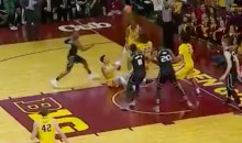 Golden Gophers Basketball Player Makes Sweet Shot While Sitting on His Butt (VIDEO)