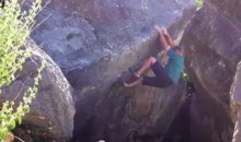 Terrifying Video Shows Boulder Breaking Off In Rock Climber's Hand (VIDEO)