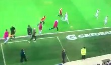 Man City Player Overcomes Ruptured Achilles To Celebrate Goal With Team (VIDEO)